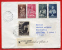 VATICAN LETTRE RECOMMANDEE DU 11/11/1958 DU VATICAN POUR PITHIVIERS FRANCE COVER - Marcophilie - EMA (Empreintes Machines)