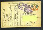 Cartolina In Franchigia  136  Di Fanteria  Zona Di Guerra   - Cartolina Viaggiata Il 23-7-1919 - Franchise