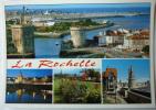 LA ROCHELLE MULTIVUES - EDITIONS ARTAUD - CPSM ECRITE NON TIMBREE CORRECTE - La Rochelle