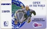 @+ Burkina Faso - ONATEL 2500 CFA - Nanan - Homme D'affaire - Burkina Faso