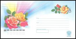 220 RUSSIA 2011 ENTIER COVER Os 2012-006 Mint FLORA Plant Plants FLOWER FLOWERS FLEUR FLEURS BLUME BLUMEN ROSE ROSES - Stamped Stationery