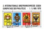 GERMAN DEMOCRATIC REPUBLIC - EXHIBITIONCARD - ESSEN STAMP EXHIBITION 1978 - MNH ** - [6] Democratic Republic