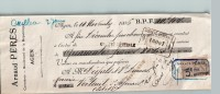 Mandat  14/11/1906  -  AGEN  Vers  VERTEUIL  -  PERES  à  DEGALS  &  DUMAS  - - Lettres De Change