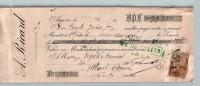 Mandat  30/05/1909  -  AGEN  Vers  VERTEUIL  -  A.  RICARD  à  DEGALS  &  DUMAS  - - Lettres De Change