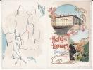 VALLE D´AOSTA  -   Aosta - Chatillon - Bellissimo Cartoncino Pubblicitario Hotel De Londres  14,5x19 Circa - Aosta