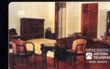 X BRASILE MUSEU DA REPUBLICA RIO DE JANEIRO RJ APOSENTO DO PRESIDENTE GETULIO VARGAS - Schede Telefoniche
