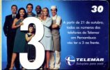 X BRASILE TELEMAR PERSONE PUBBLICITA' - Pubblicitari