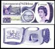 St.Helena 50 P Banknote 1979 Unc Pick 5 - Saint Helena Island