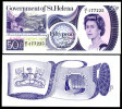 St.Helena 50 P Banknote 1979 Unc Pick 5 - Isla Santa Helena