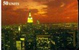 DELTA CARD +PLUS SERVICE PREPAID CALLING CARD SERIE 2 A SPASSO NEGLI USA N.12/20 - Schede Telefoniche