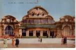 03 VICHY Le Grand Casino Cpa Animée Couleur - Vichy