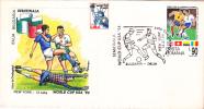 FOOTBALL WORLD CUP, USA, 1994, SPECIAL COVER, OBLITERATION CONCORDANTE, ROMANIA - 1994 – USA