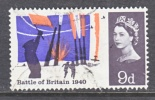Great Britian 436  (o)  BATTLE OF BRITIAN - 1952-.... (Elizabeth II)