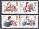Great Britian 915-8   **  VICTORIAN  WRITERS - Scrittori