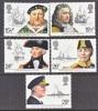Great Britian 991-5   **  NAVAL  POWER - Unused Stamps