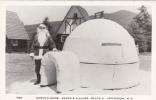 Vintage Real Photo - Santa Claus - Village Igloo - Père Noël - Jefferson New Hampshire - VG Condition - 2 Scans - Santa Claus
