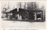 Vintage Real Photo - Santa´s Village - Nativity Noël - Jefferson New Hampshire - VG Condition - 2 Scans - Santa Claus
