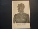 Congo (RCA ; Oubangui) ; Mobaye ; Femme Sango  (seins Nus ; Tresses à Perles {beads} ; Collier ; Ngbandi) - Afrique Du Sud, Est, Ouest