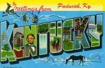 ETATS-UNIS - PADUCAH - CPA - N°104 - Greetings From Paducah, Ky - Etats-Unis