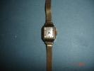 Montre Femme Dulux ,plaquée Or ,bracelet Tissé ,mouvement à Réparer - Montres Bijoux
