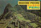 The Wonderful Macchu-Picchu - Cuzco Peru Pérou - Written - 2 Scans - Good Condition - Peru