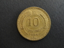 1964 - 10 Centesimos - Chili - Chile