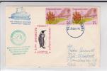 "TRISTAN DA CUNHA - 1976 - ENVELOPPE Du PAQUEBOT ""M.S LINDBLAD""  Pour La DDR - POLAIRE - ANTARCTIQUE - Tristan Da Cunha"