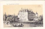 20609 Chateau -carte Supra Paris, Beau Papier Façon Gravure - Vallée Loire France Ecclimont