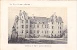 20614 Chateau -carte Supra Paris, Beau Papier Façon Gravure - Vallée Loire France - Buron 44 - Châteaux