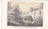 20616 Chateau -carte Supra Paris, Beau Papier Façon Gravure - Maine Anjou -Courcelles Suze XVII Wismes