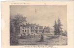 20619 Chateau -carte Supra Paris, Beau Papier Façon Gravure - Maine Anjou -Craon Mayenne XVII Wismes