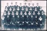 GROUPE DE MARINS INCONNUS. Carte Photo Promotion Militaire  1928 (photo ArtistiqueJ. Lumbroso. Rue Franklin Ferryville) - Regimientos