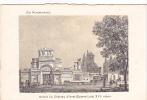 20622 Chateau -carte Supra Paris, Beau Papier Façon Gravure - Normandie -Anet XVI E