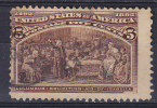 United States 1893 Mi. 77     5 C Kolumbus Columbus Sucht Hilfe Bei Königin Isabella I. - Usati