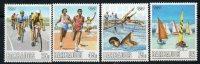 Barbados 1988 - Olympic Games, Seoul SG863-866 MNH Cat £5.30 SG2015 - Barbados (1966-...)