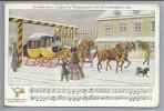 Post & Briefboten Postkutsche Weihnachten (1852) Krüzner - Poste & Facteurs
