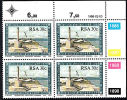 Msc263 South Africa 1988, SG 632  30c 500th Anniv Discovery Cape Of Good Hope By Bartolomeu Dias, Control Block, MNH - Unclassified