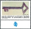 ANDORRE 1987 - Yv. 365 ** TB Bdf Sigle Bleu  Faciale= 0,46 EUR - Clef De L'église De La Cortinada ..Réf.AND13439 - Andorra Francese