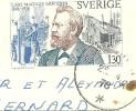 SUEDE 130  - LARS MAGNUS ERICSSON Sur CARTE POSTALE SANDVIKEN - Suède