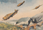 ARMA AERONAUTICA MILITARI SOLDATI MILIZIA VENTENNIO FASCIO G.D'ANN VIAGGIATA X TORRIGLIA GE 1939 - Manovre