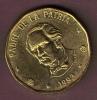 REP. DOMINICANA 1 PESO 1993  DUARTE - Dominicaine
