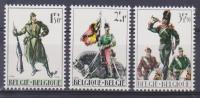 Belgique N° 1293-1294-1295 ** Oeuvres Patriotiques - 1964 - Unused Stamps