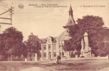SPRIMONT = Place Communale - L'Hôtel De Ville Et Le Monument De La Guerre (écrite) 1935 - Sprimont