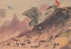 ARMA AERONAUTICA MILITARI SOLDATI MILIZIA VENTENNIO FASCIO MEDAGLIA D'ORO VIAGGIATA X GENOVA 1939-ORIGINALE 100% - Manovre