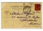 "FACTEURS  BOITIERS  84  -  Type 84  -   "" ARNAGE  /  SARTHE  /  1  SEPT  03 ""  -   Pothion N° 2177 - 1877-1920: Periodo Semi Moderno"