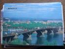 Irkutsk, A Bridge Over The Angara River - Voitures De Tourisme