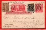 CHILI ENTIER POSTAL 2C DE 1913 DE SANTIAGO POUR MONTREUIL FRANCE COVER - Chili