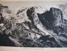 Glacier Ouest De Chasseforét , Héliogravure Sur Papier Vélin , Circa1920 - Historical Documents