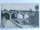 LAMALOU LES BAINS - Un Train Sur Le Pont Et Le Viaduc - Lamalou Les Bains
