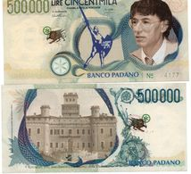 Italy PADANIA ITALY - 500000 Lire UNC BANKNOTE - Italië